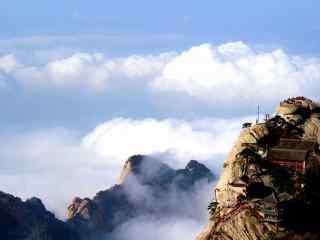 华山壮美护眼风景壁纸