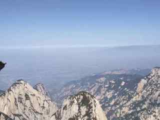 唯美的华山风景桌面壁纸