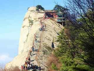华山唯美护眼风景壁纸