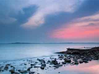 唯美的码头风景壁纸