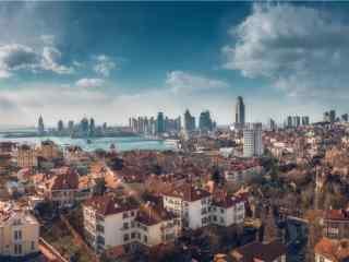 避暑城市青岛风景图片