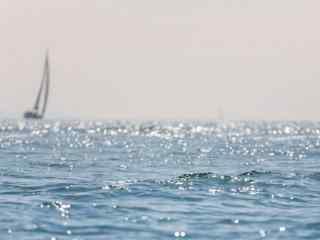 青岛大海清新风景壁纸