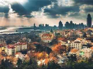避暑城市唯美青岛风景壁纸