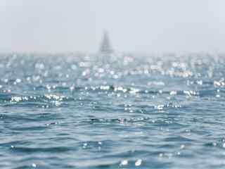 清新美丽的青岛大海风景壁纸