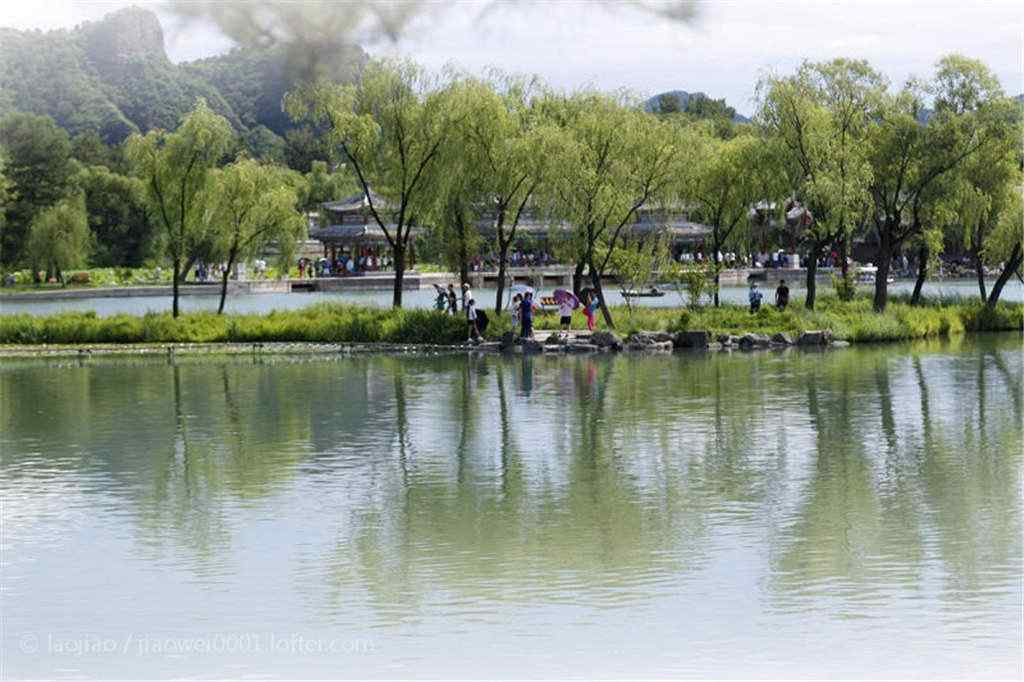小清新承德避暑山庄风景图片