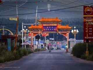 河北承德森林公園風景壁紙(zhi)