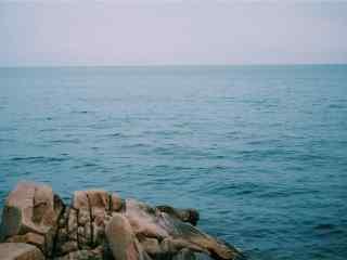 清凉的北戴河风景桌面壁纸