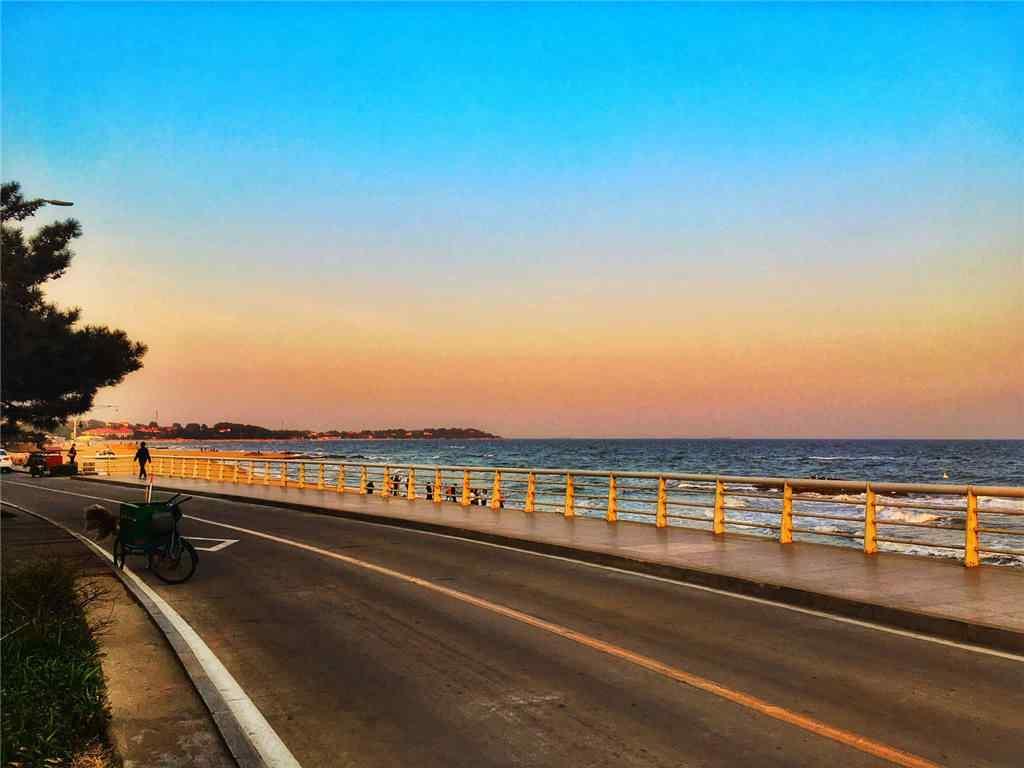 北戴河唯美的风景桌面壁纸