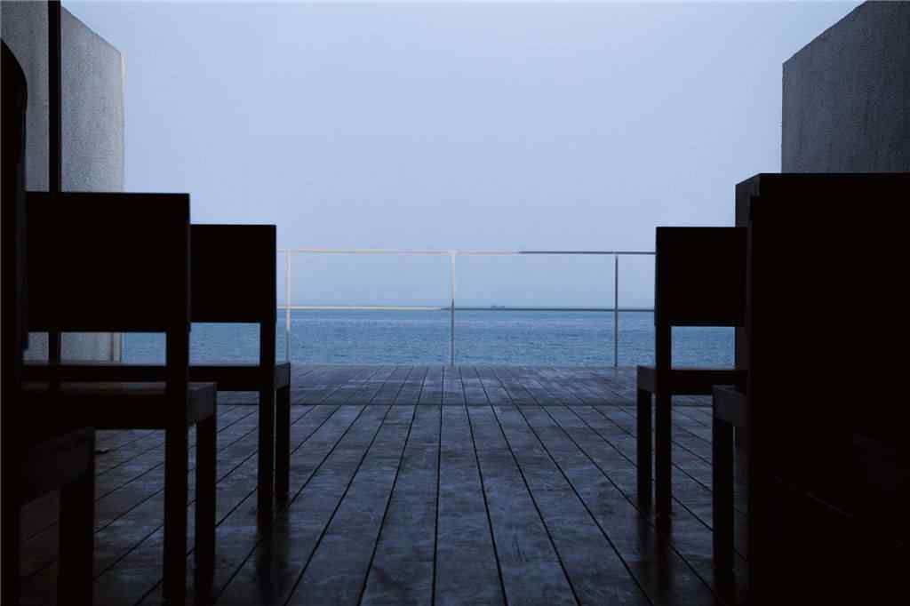 北戴河清晨海边风景壁纸