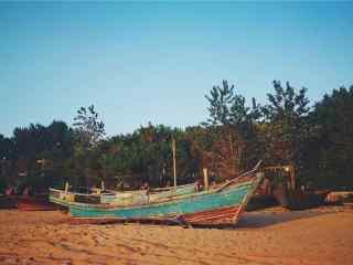 北戴河夏日风景图片壁纸