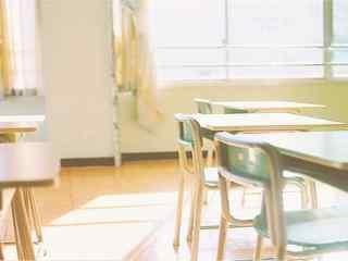 开学季之小清新教室风景壁纸