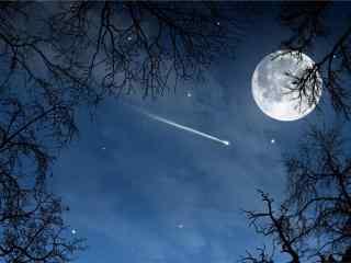 中秋节之满月风景