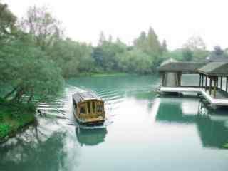 美丽的西湖风景护眼桌面壁纸