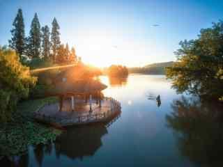 西湖唯美风景护眼桌面壁纸