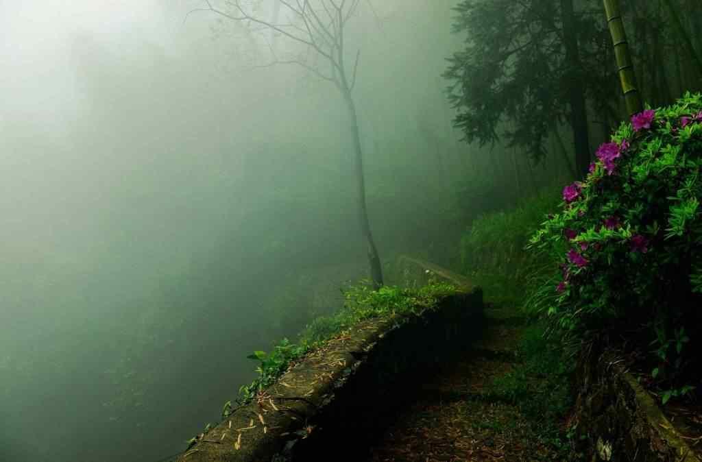 清晨山间风景桌面壁纸
