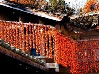 秋日丰收风景桌面