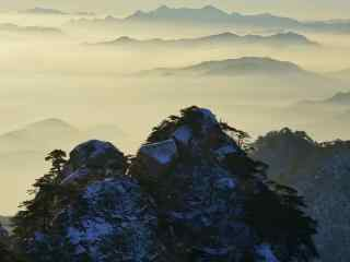 自然风景图片高山
