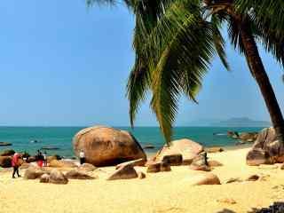 海南风景图片海滩