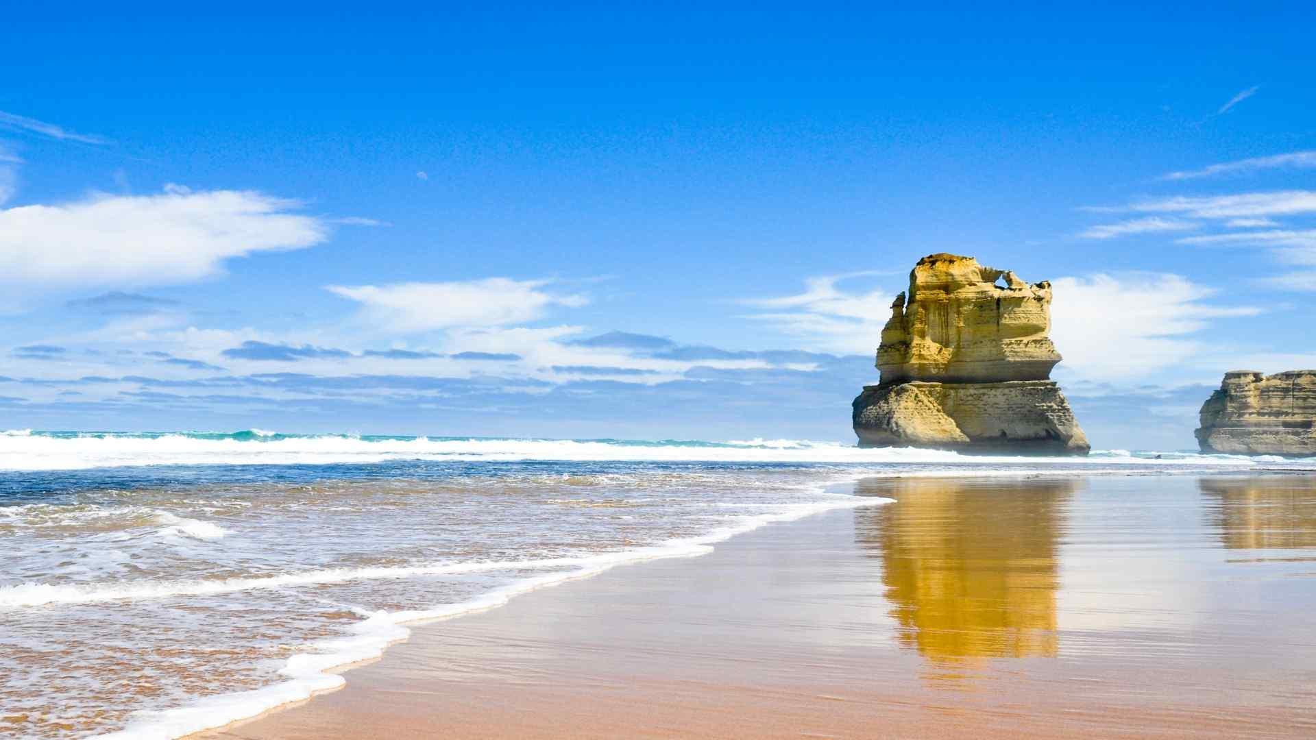 唯美海洋风景图片高清壁纸