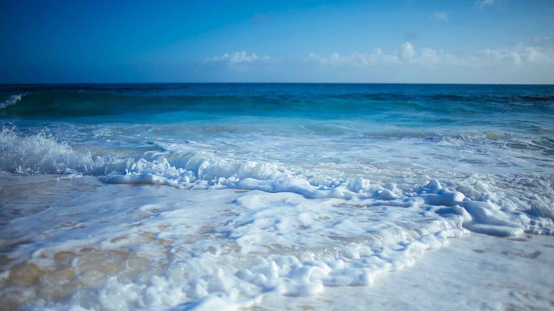 唯美的海洋风景摄影高清壁纸