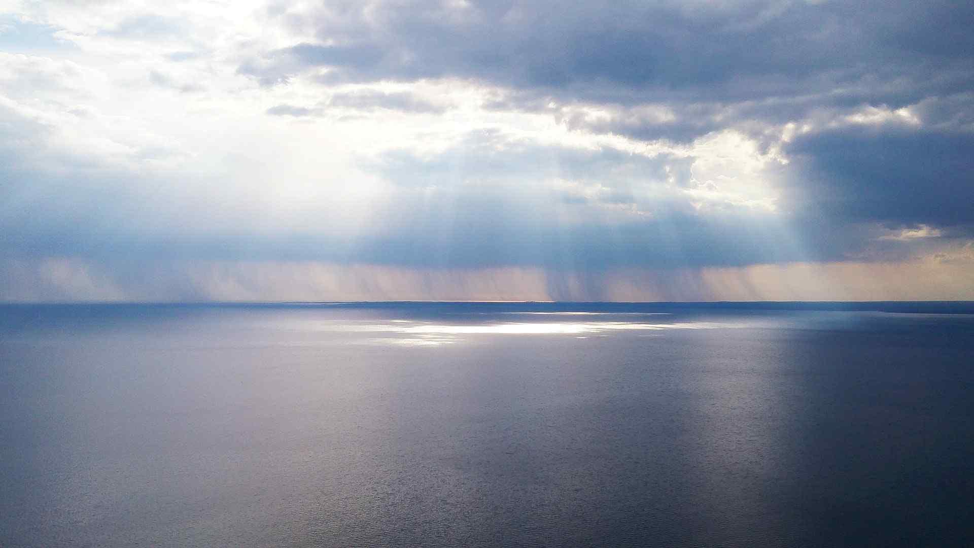 蔚蓝海洋风景壁纸