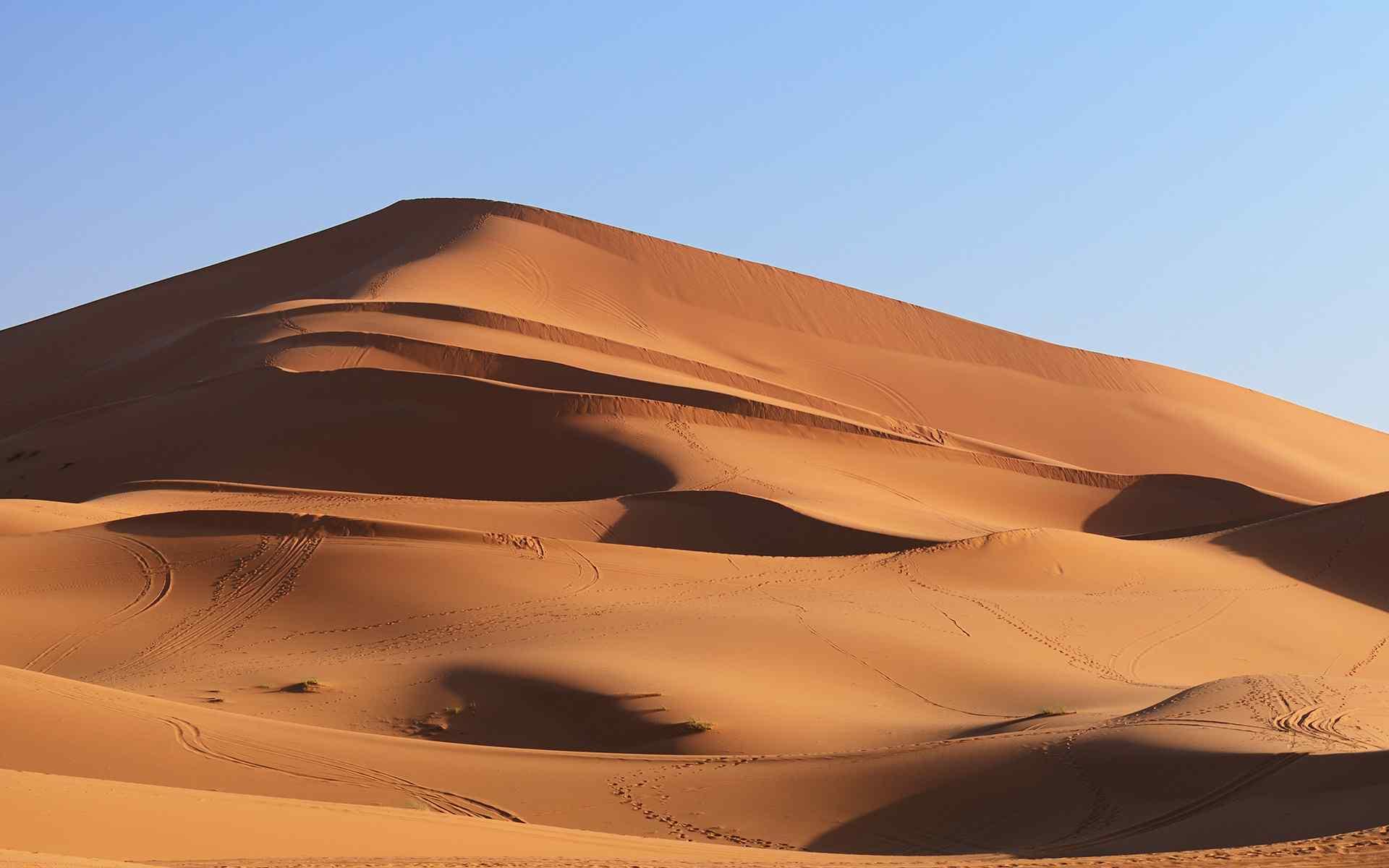 热带沙漠迷人风景高清图片桌面壁纸