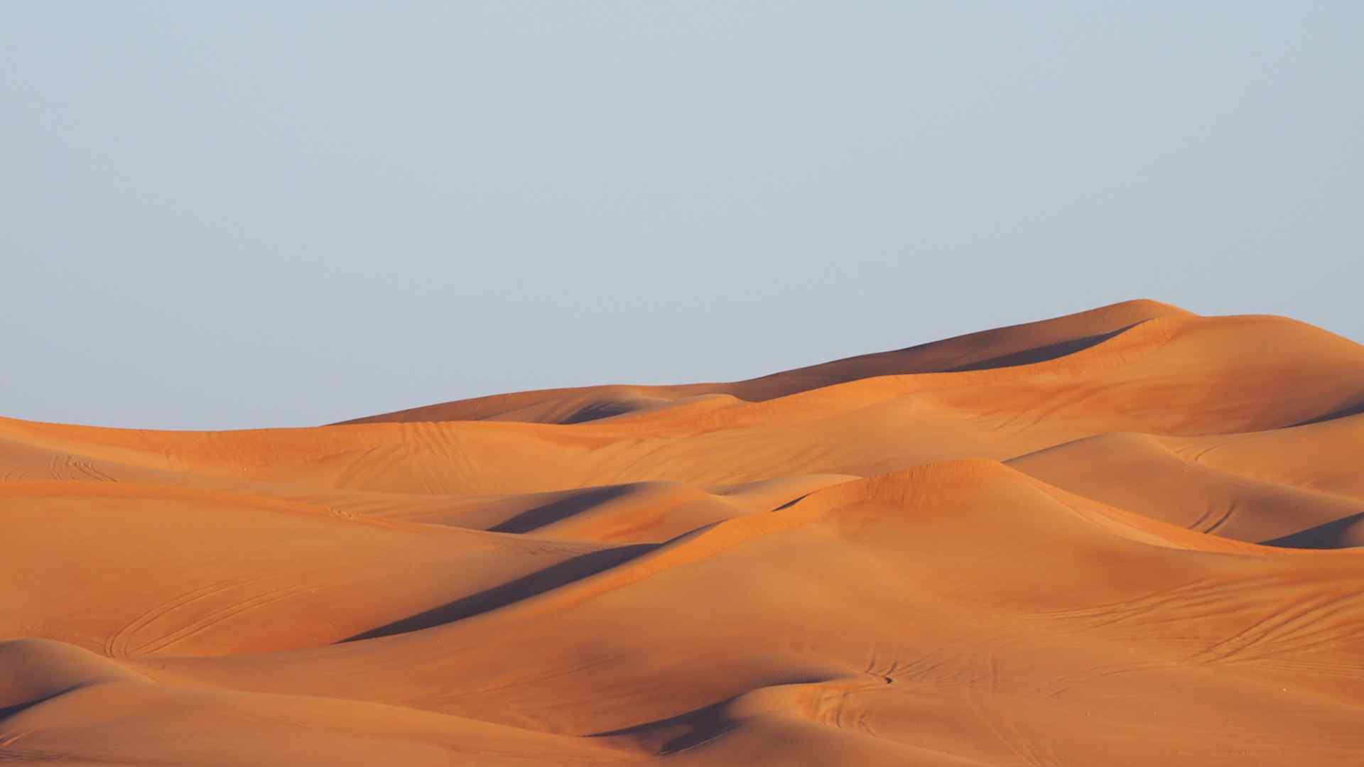 沙漠风光图片高清桌面壁纸