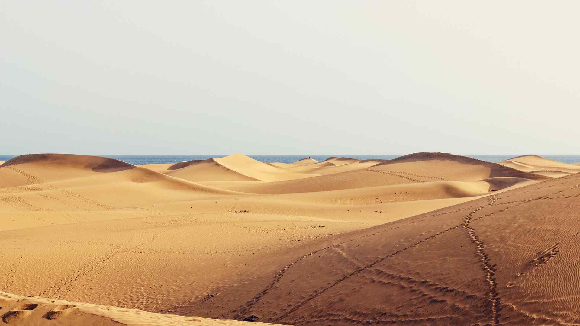 沙漠自然风光高清桌面壁纸