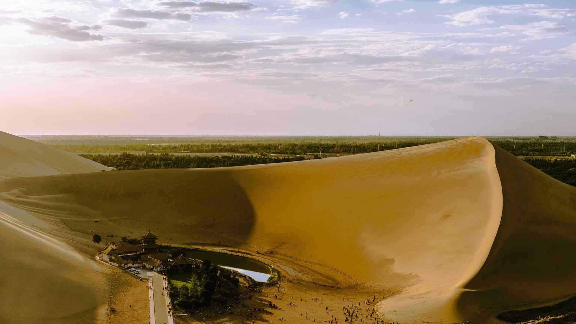 沙漠风景摄影高清桌面壁纸