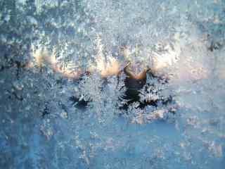 冬季雪花高清素材桌面壁纸