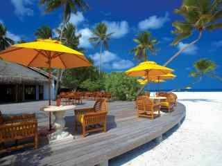 度假胜地马尔代夫风景高清壁纸