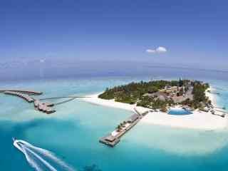 旅游圣地马尔代夫海岛风景高清壁纸