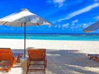 马尔代夫唯美风景图片高清壁纸