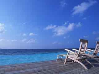 旅游圣地马尔代夫风景高清壁纸