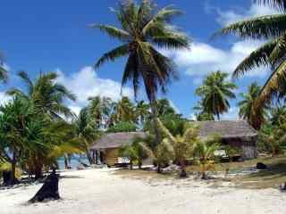 马尔代夫热带海岛风景高清壁纸