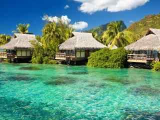 马尔代夫度假村风