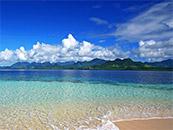 清新大海自然风景高清壁纸