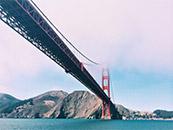 美国金门大桥自然风景高清壁纸