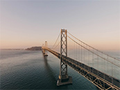 金门大桥唯美自然风景高清壁纸
