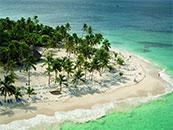 夏日度假小岛海边自然风景壁纸