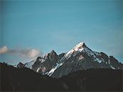 唯美高原雪山自然风景高清壁纸图片