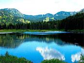唯美秀丽湖景自然风景高清壁纸
