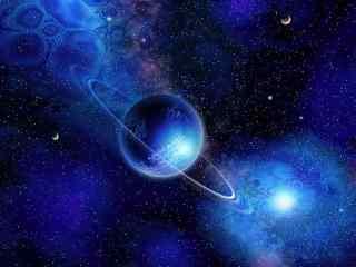 唯美星球与星云图