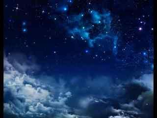 幽静的星云图片壁