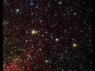 唯美满天星星桌面