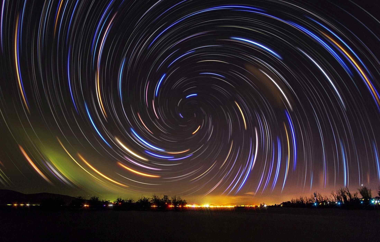 神奇美丽的星空桌面壁纸