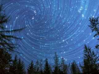 唯美的星空创意摄