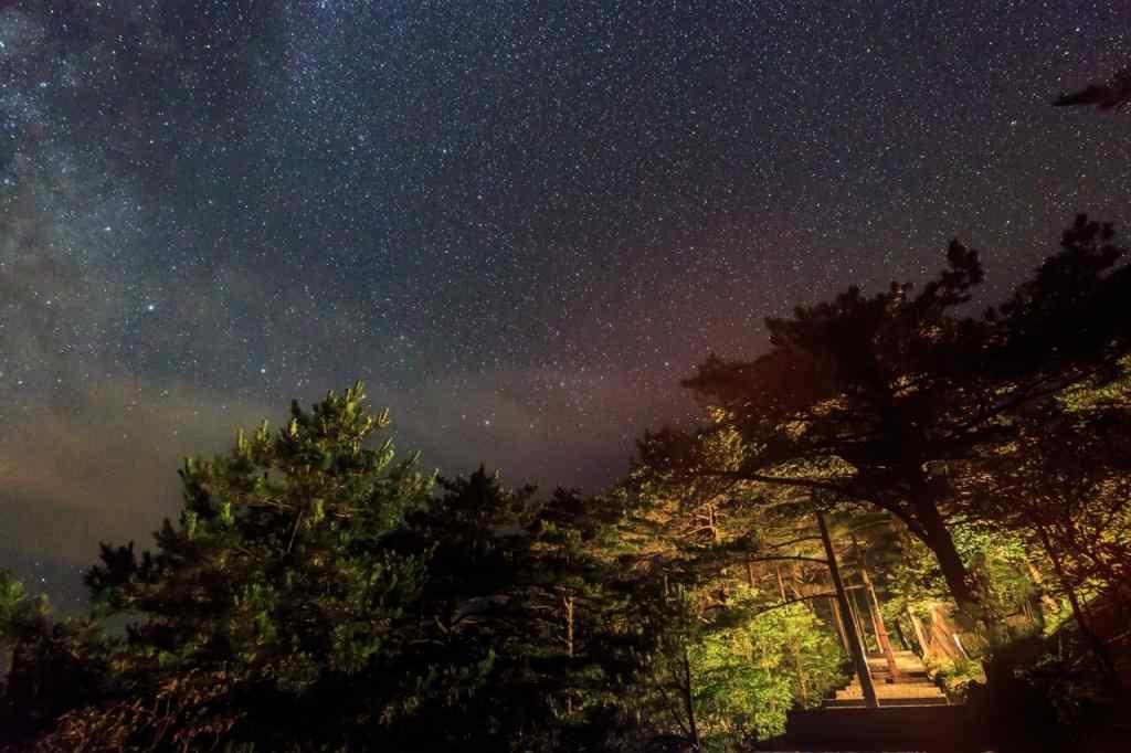 星空风景桌面壁纸