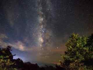 美丽的星空桌面壁