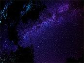 唯美灿烂星空高清桌面壁纸图片